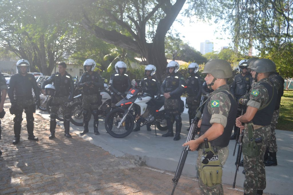 Polícia do Exército começa a atuar na 'Operação Potiguar'