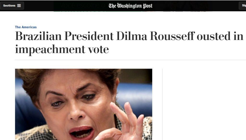 Mídia internacional repercute 'fim de era' Dilma Rousseff