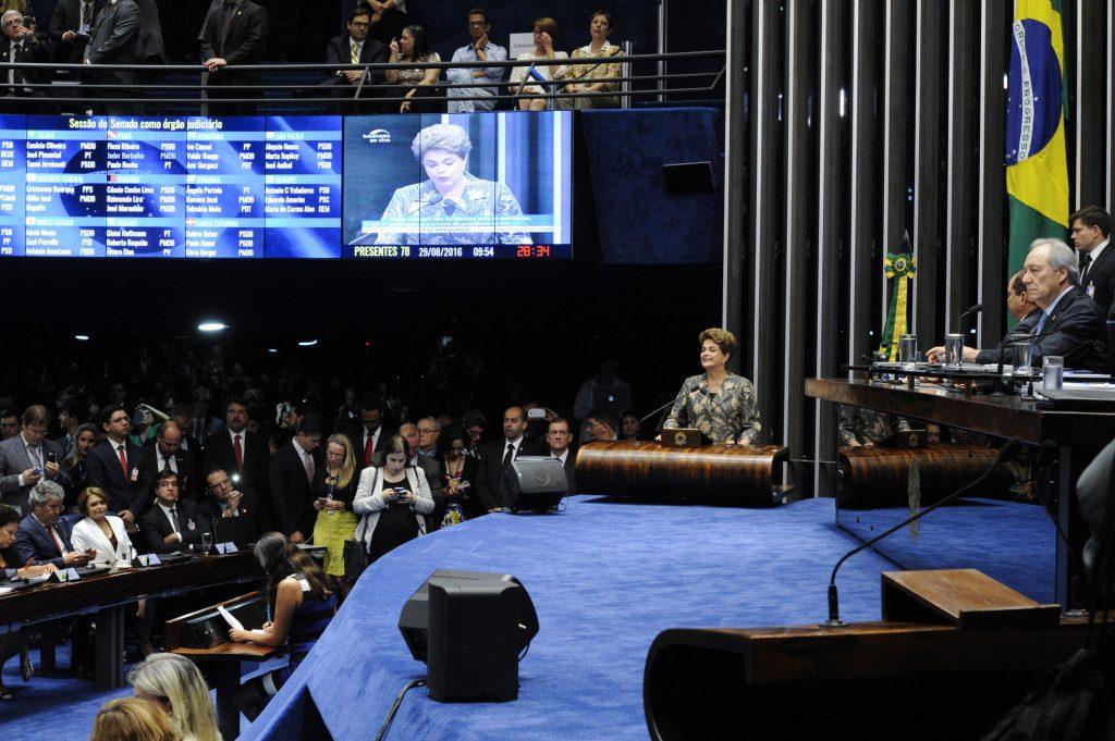 Após impeachment, senadores decidem que Dilma pode exercer função pública