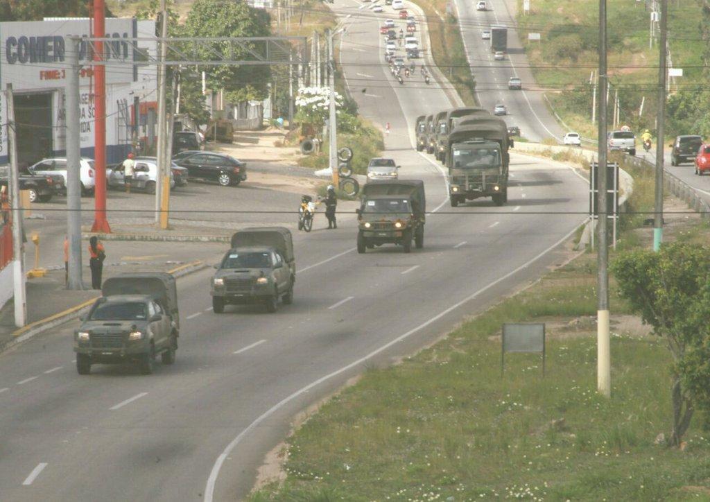 Tropas militares começam a chegar no RN