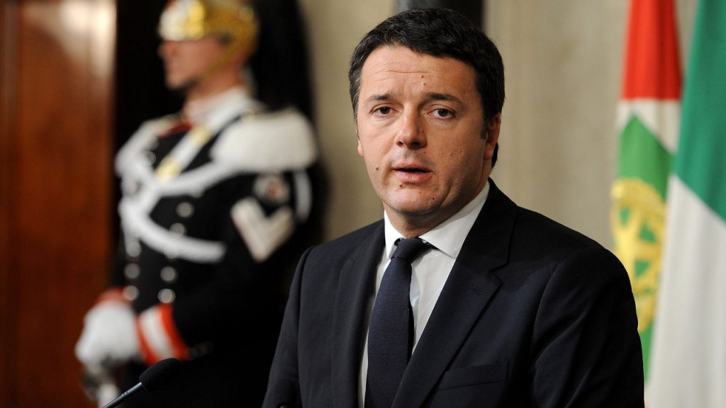 Primeiro-ministro da Itália promete doar salário de senadores aos pobres