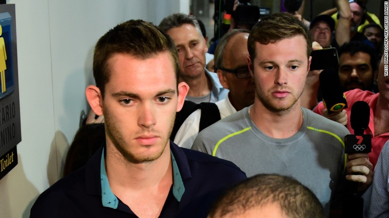 Comitê Olímpico dos EUA pede desculpas por mentira de Lochte