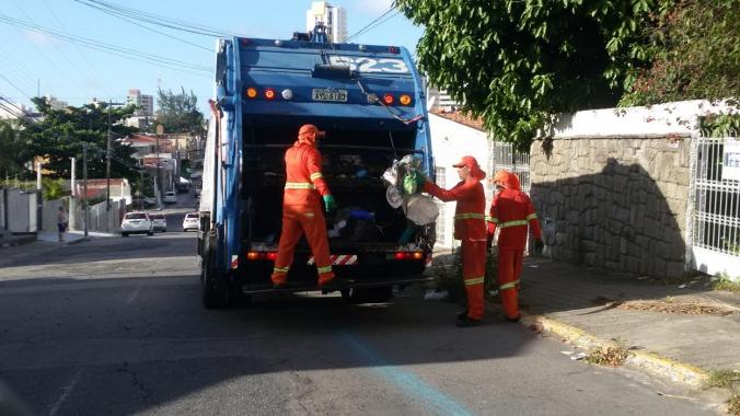 Urbana recolhe 1.100 toneladas diárias de lixo em Natal