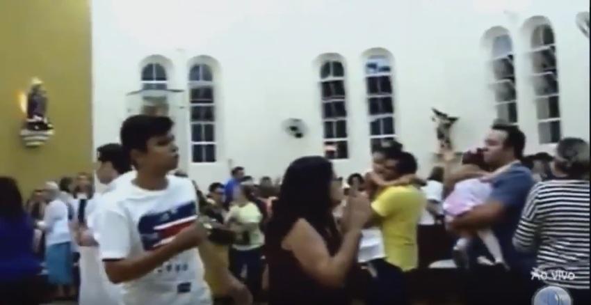 Homem invade sacristia de igreja em Almino Afonso/RN para não morrer