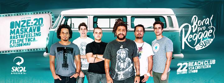 Bora pro Reggae confirma shows de Onze20 e Maskavo em Natal