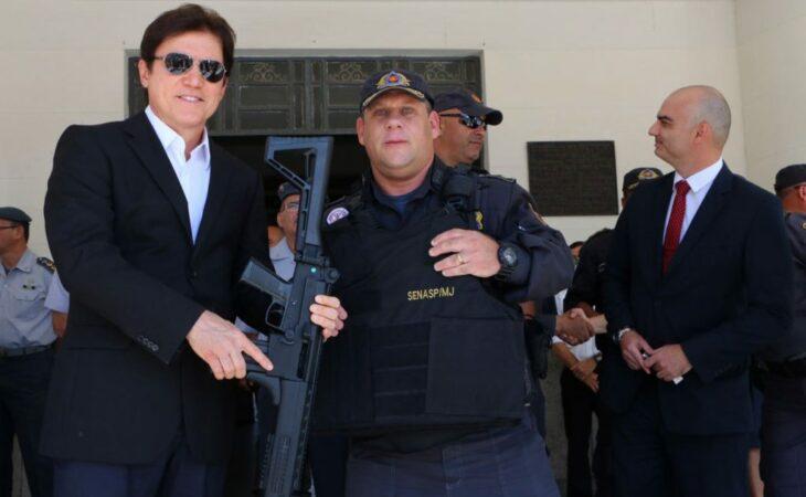 Segurança do RN recebe novos veículos, armas e coletes