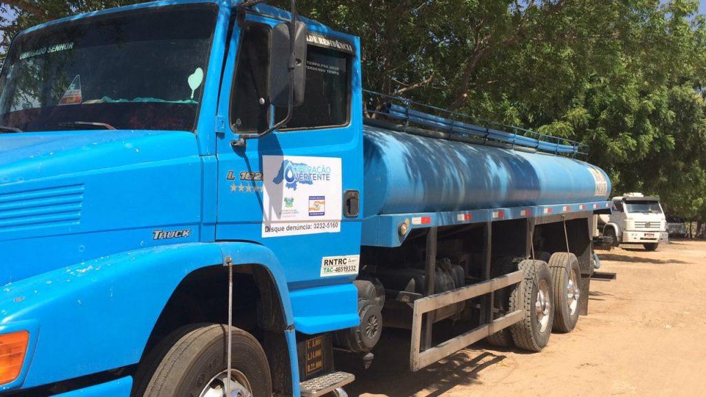 Operação Vertente: governo leva água para cidades do Seridó e Alto Oeste