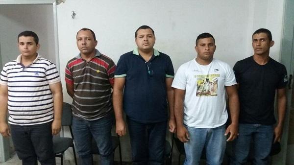 Cinco suspeitos de integrarem milícia são presos em Macaíba
