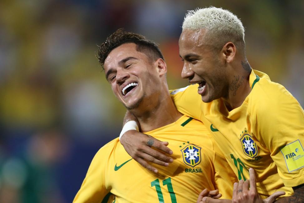 Brasil dá show na Arena das Dunas e bate a Bolívia por 5 a 0