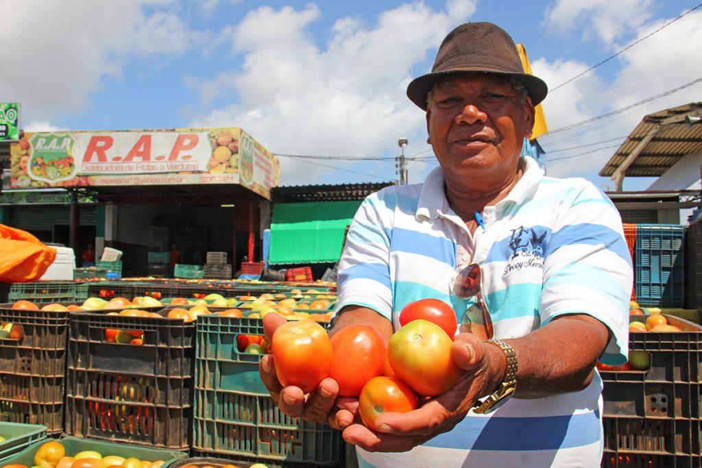 Ceasa apresenta 29 itens da lista de hortifrúti com baixa nos preços
