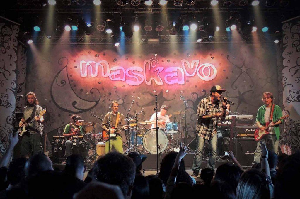 """Turnê do DVD """"Queremos Mais 15 anos"""" marca show da banda Maskavo em Natal"""