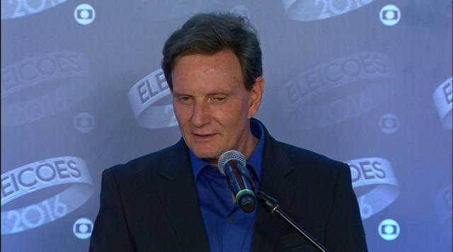 Marcelo Crivella é eleito prefeito do Rio de Janeiro (RJ)