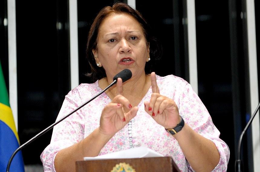 """""""A situação é mais grave do que nós imaginávamos"""", diz Fátima sobre contas do Estado"""