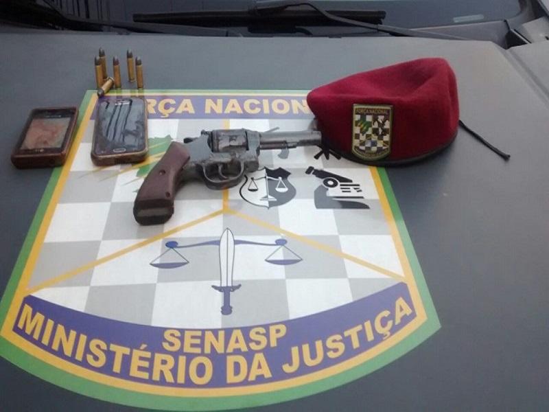 Força Nacional prende suspeito de sequestro relâmpago em Natal