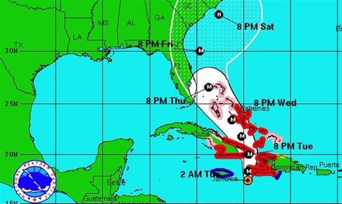 Furacão Matthew mata 11 no Caribe e se aproxima dos EUA