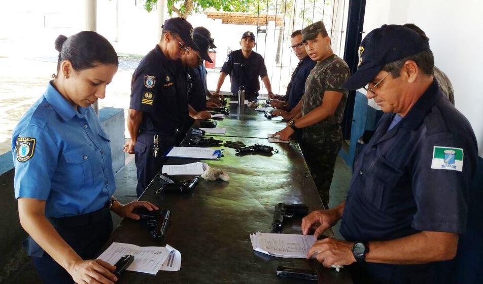 Guardas municipais de Natal serão capacitados pelo Exército