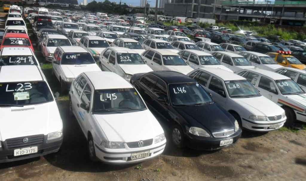 Detran/RN vai leiloar 300 veículos no final de outubro