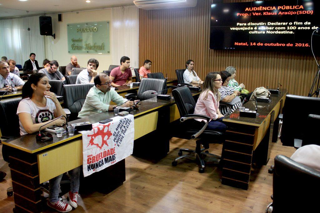 Câmara Municipal de Natal discute proibição das vaquejadas