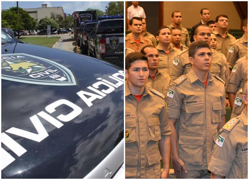 Bombeiros e Polícia Civil criam comissão para elaboração de editais de concursos