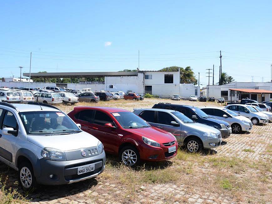 Detran/RN irá realizar leilão de 200 veículos em dezembro