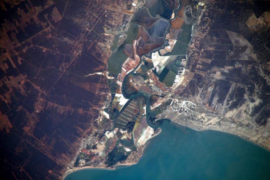 Astronauta divulga foto da costa potiguar vista do espaço