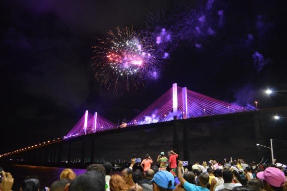 Natal em Natal encerra programação com grandes atrações e queima de fogos