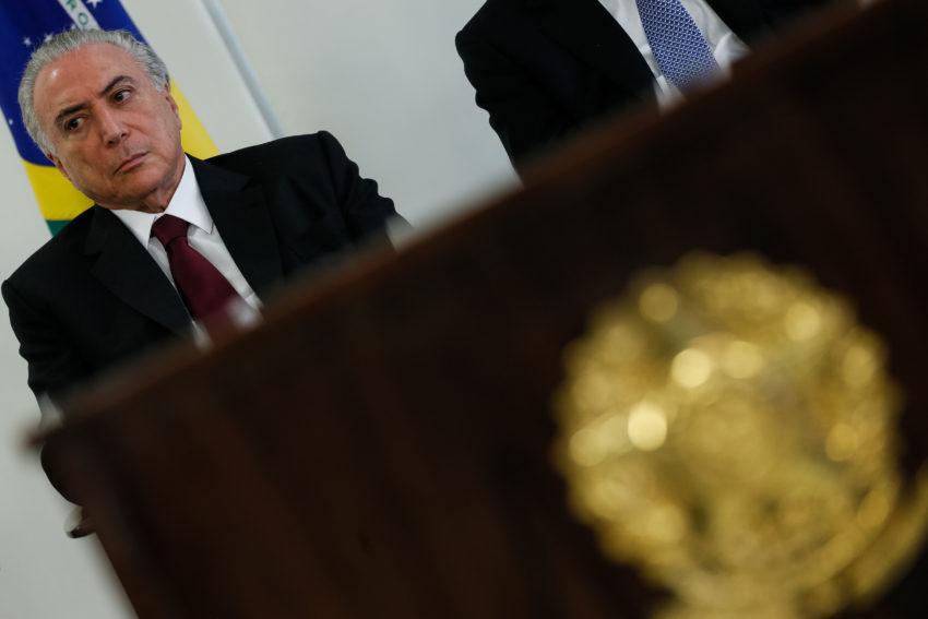 Fachin autoriza interrogatório do presidente Michel Temer