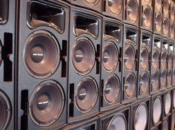 paredão de som