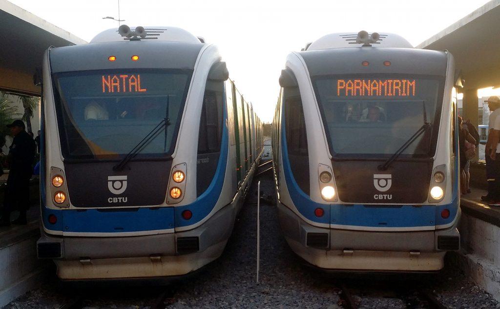 Sistema de trens da Grande Natal terá novo reajuste de tarifa
