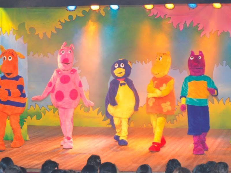 Peppa Pig, Backyardigans e a Galinha Pintadinha sobem ao palco da Cidade Criança