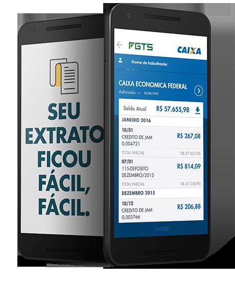 FGTS: consulta de contas inativas pode ser feita por celular
