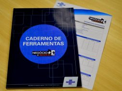 Caderno Negócio a Negócio sebrae