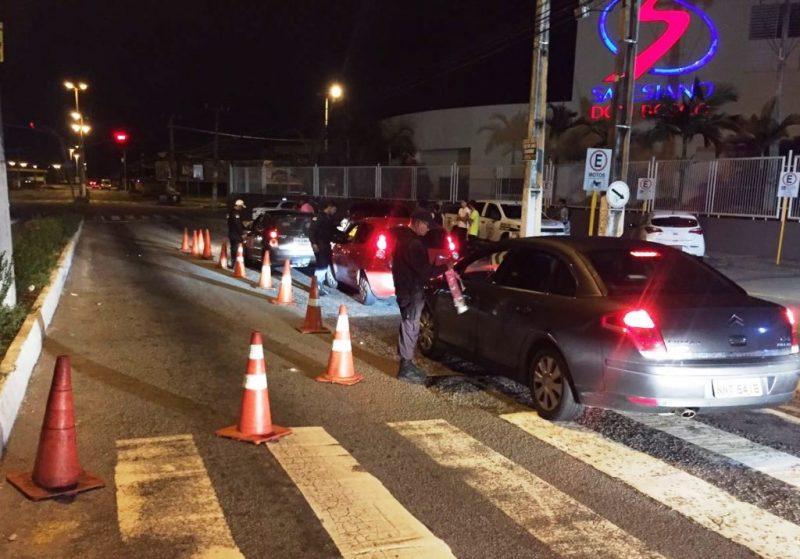 Lei Seca autua 128 condutores em quatro dias consecutivos de fiscalização