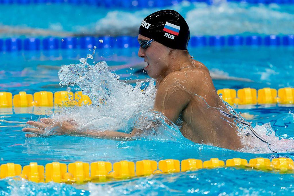 Sexto dia do Mundial de natação tem zebras e show da Rússia