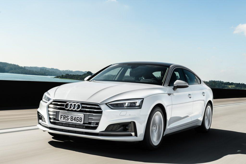 Nova geração do Audi A5 Sportback chega ao Brasil