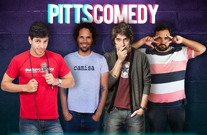 Pitts Comedy apresenta maratona de stand ups neste sábado
