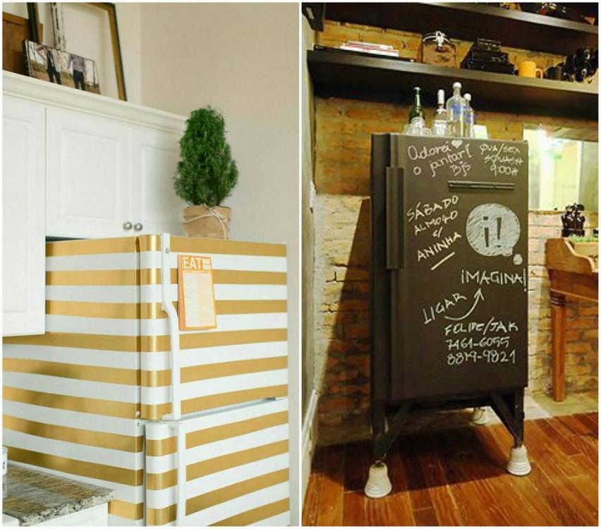 Transforme a sua geladeira em um item de decoração
