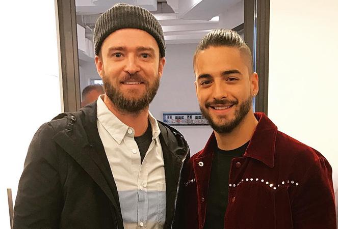 Maluma e Justin Timberlake