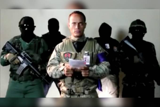 Policial rebelde reaparece e promete atacar Maduro