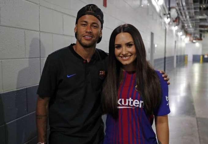 Demi Lovato e Neymar
