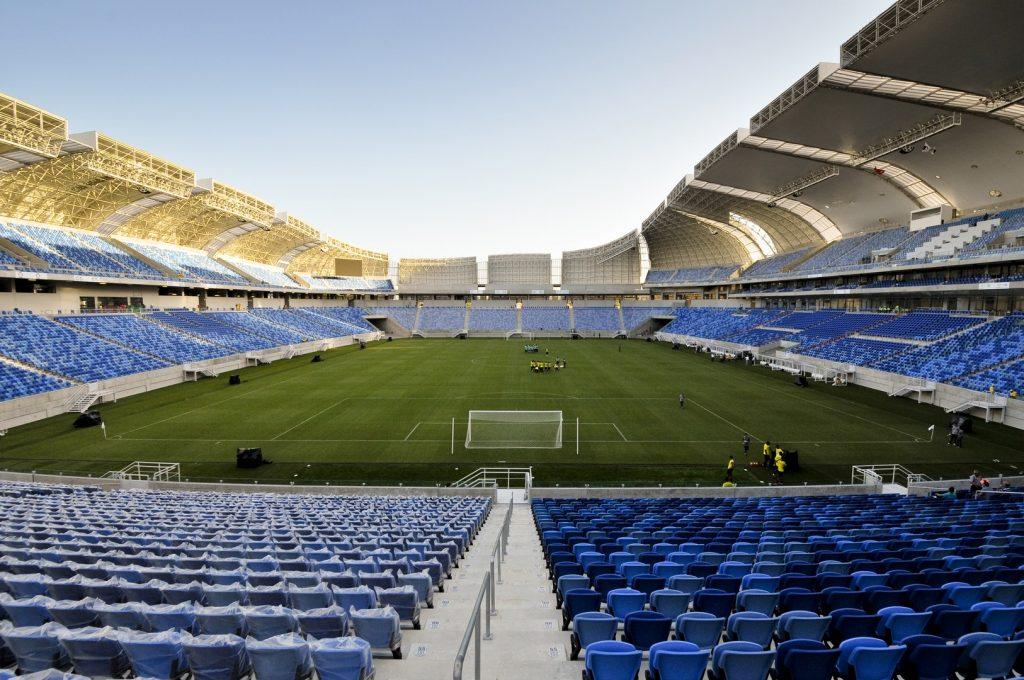 Arena das Dunas promove experiência de Copa durante jogos do Brasil