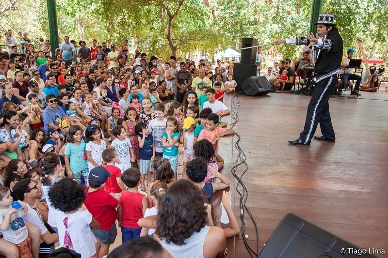 Festival de mágica, dança e música na programação do Parque das Dunas