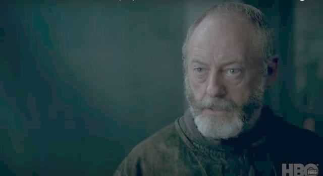 Ser Davos fala um pouco do que vem na próximo temporada de game of Thrones