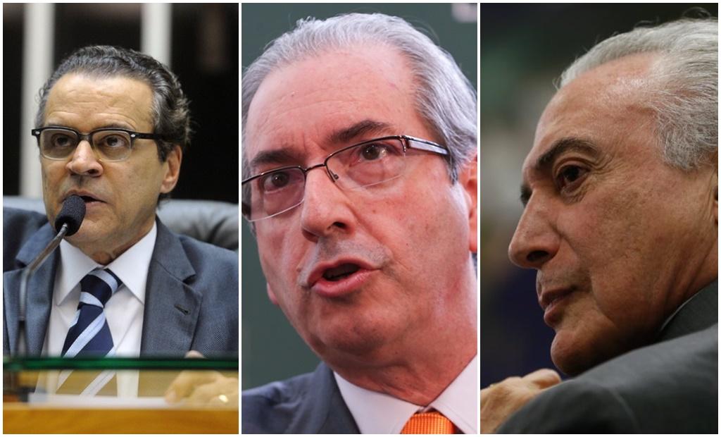 """PF libera diálogo sobre suposta """"negociação de propina"""" envolvendo Henrique, Eduardo Cunha e Temer"""