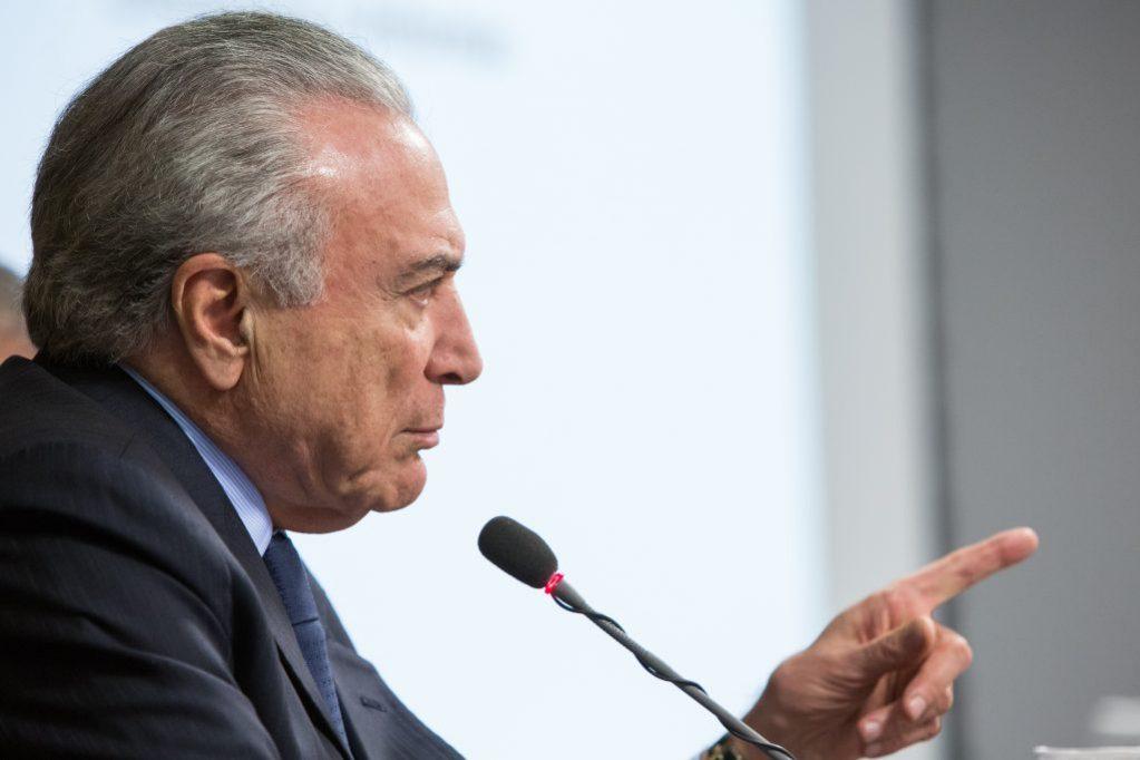 PF vê indícios de crimes cometidos por Temer e cúpula do PMDB