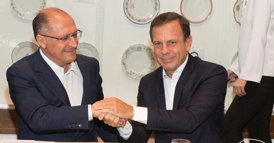 Durante ação conjunta, Dória descarta distanciamento de Alckmin devido disputa presidencial