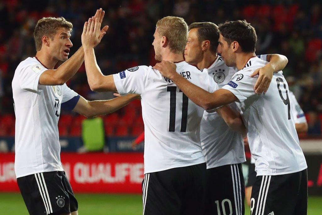 Alemanha quase na Copa! Veja todos os jogos desta segunda-feira