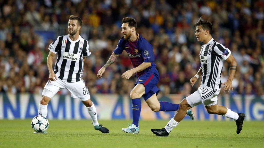 Com dois de Messi, Barça vence a Juventus