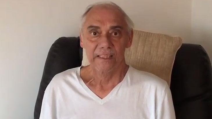 Marcelo Rezende está tratando câncer e aparece em vídeo quase irreconhecível