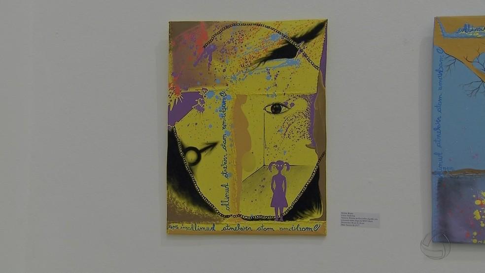 Obra de arte volta a ser exposta depois de polêmica no Mato Grosso Sul